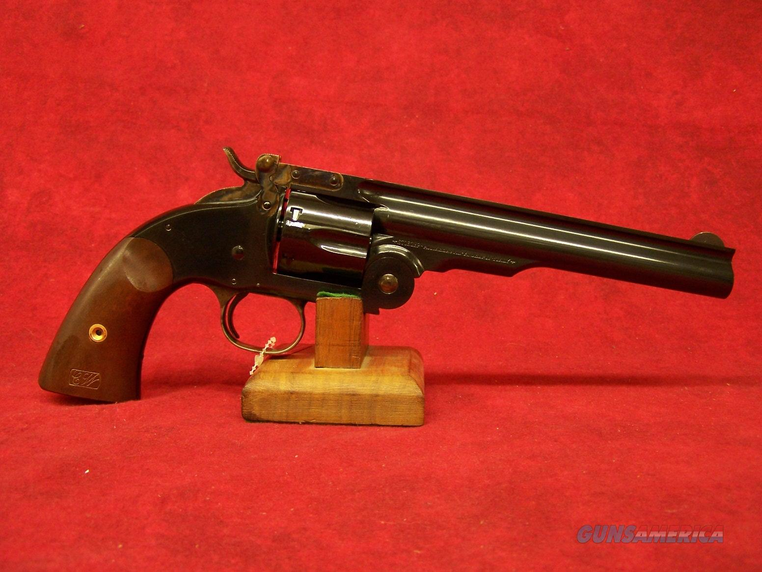 "Uberti 1875 Top Break No.3-2nd Model Schofield .44-40 7"" Blue/Walnut (348520)  Guns > Pistols > Uberti Pistols > Ctg."