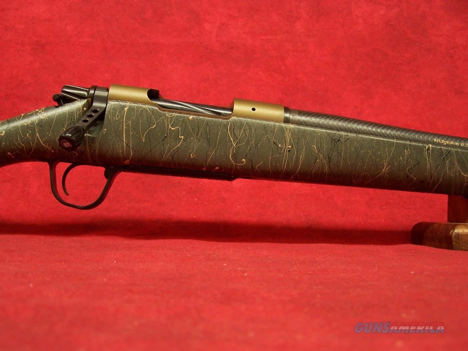"Christensen Arms Ridgeline 6.5 PRC Bronze with Green / Black & Tan Web Stock 24"" carbon barrel plus brake 1:8 twist  Guns > Rifles > C Misc Rifles"