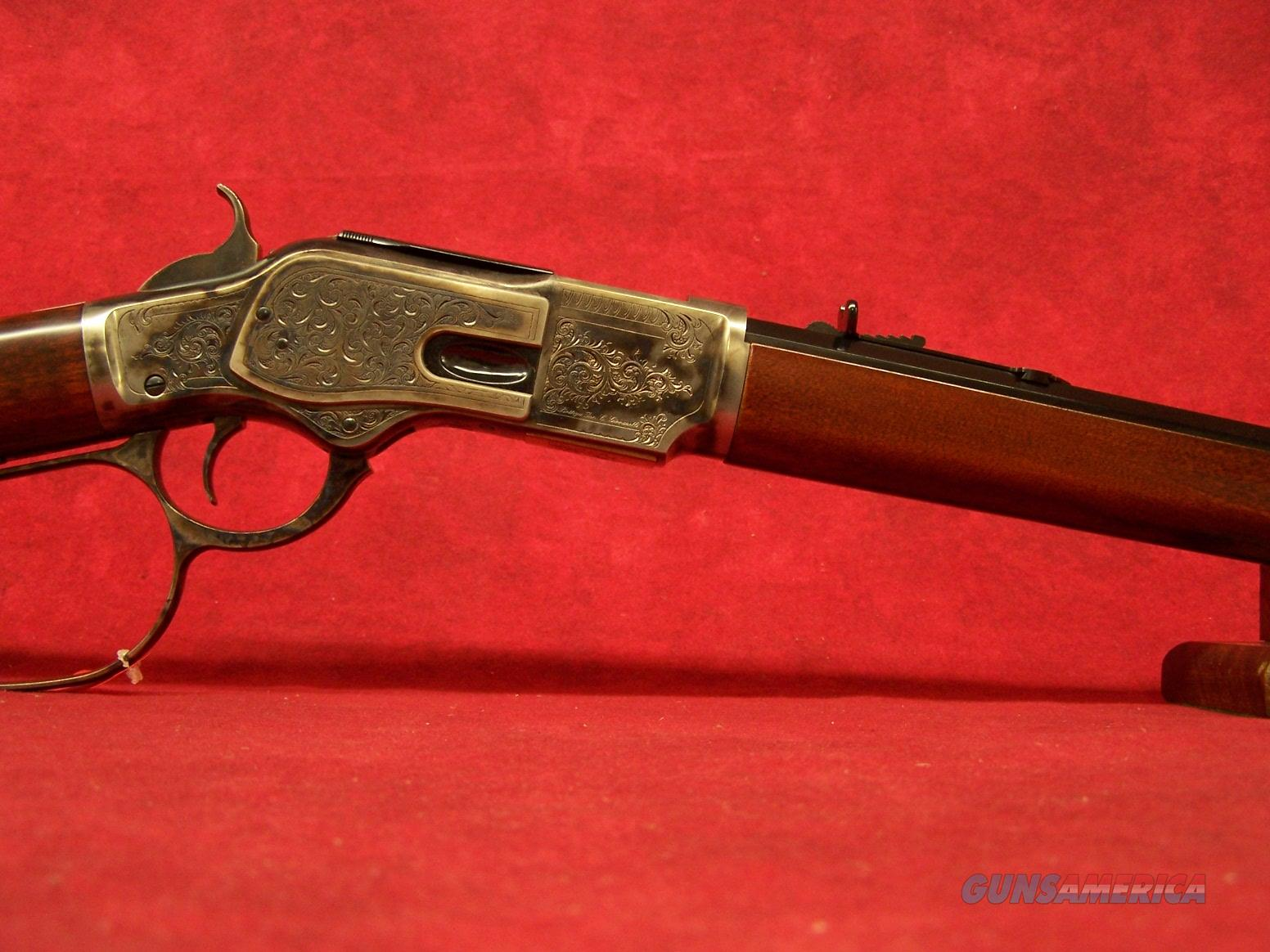 "Uberti 1873 Limited Edition Short Rifle Deluxe .45 Colt 20"" Barrel (342811)  Guns > Rifles > Uberti Rifles > Lever Action"