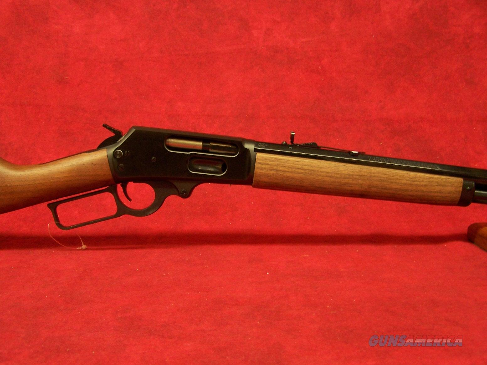 Marlin Model 1895 Cowboy .45-70 Government 26 Inch Barrel Blue Finish American Walnut Straight Stock (70480)  Guns > Rifles > Marlin Rifles > Modern > Lever Action
