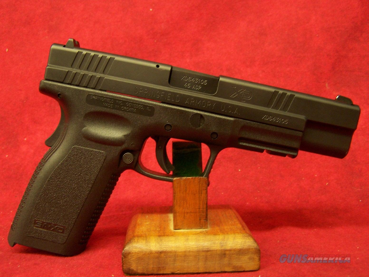 Springfield XD Tactical .45 ACP 5 Inch Barrel (XD9621HCSP06)  Guns > Pistols > Springfield Armory Pistols > XD (eXtreme Duty)