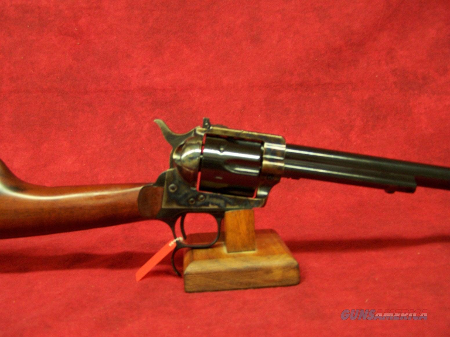 "Uberti 1873 Cattleman Revolver Target Carbine 18"" (345191)  Guns > Rifles > Uberti Rifles > Revolving"
