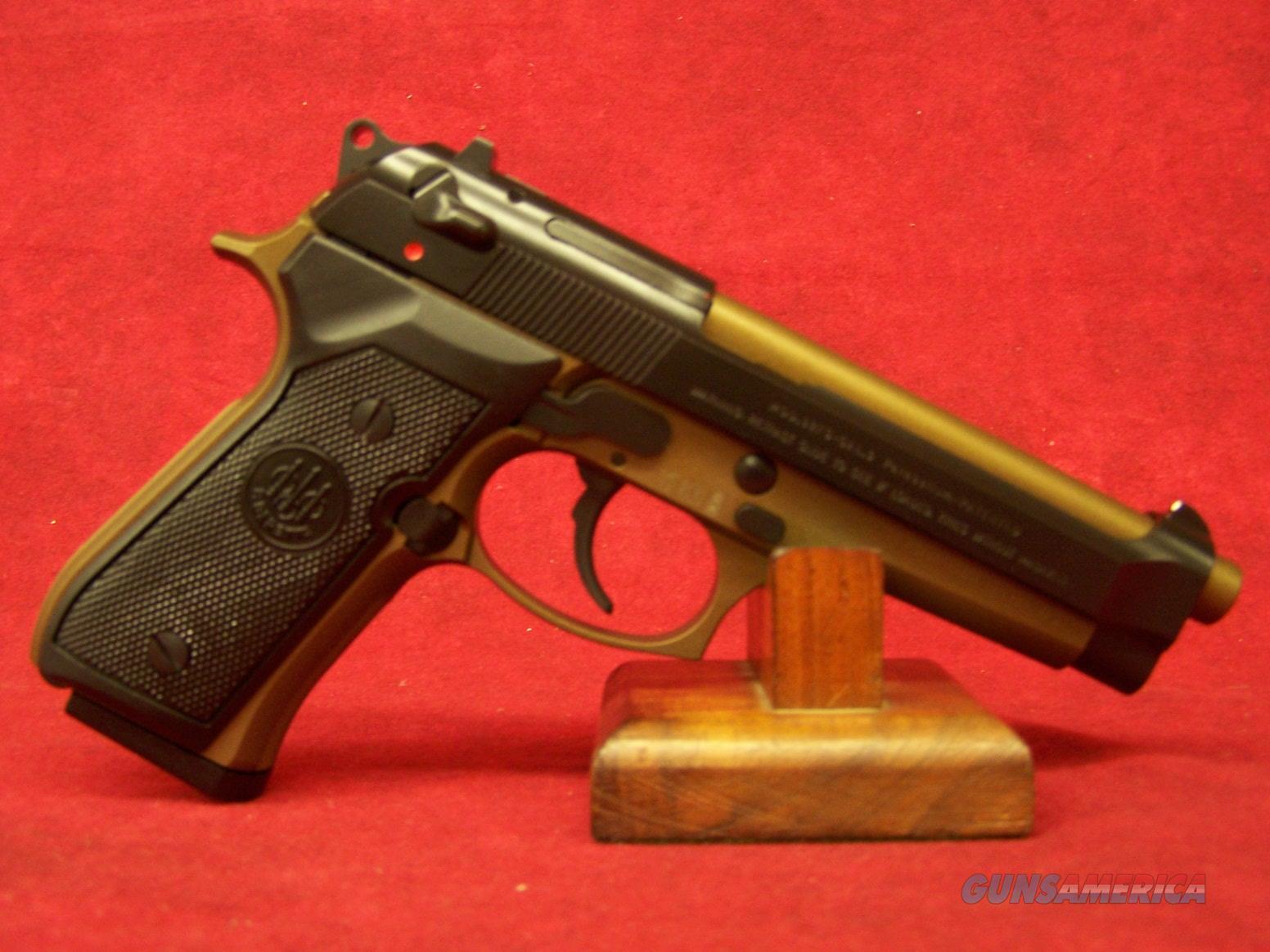 """BERETTA 92FS BURNT BRONZE 9MM  4.9"""" BRONZE/BLACK 15+1 FS  (JS92F340M)  Guns > Pistols > Beretta Pistols > Model 92 Series"""
