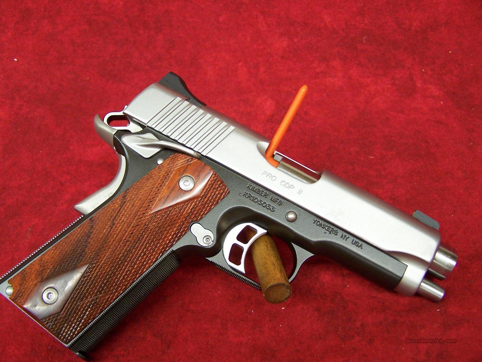 Kimber Pro CDP II .45 ACP(32055).    Guns > Pistols > Kimber of America Pistols