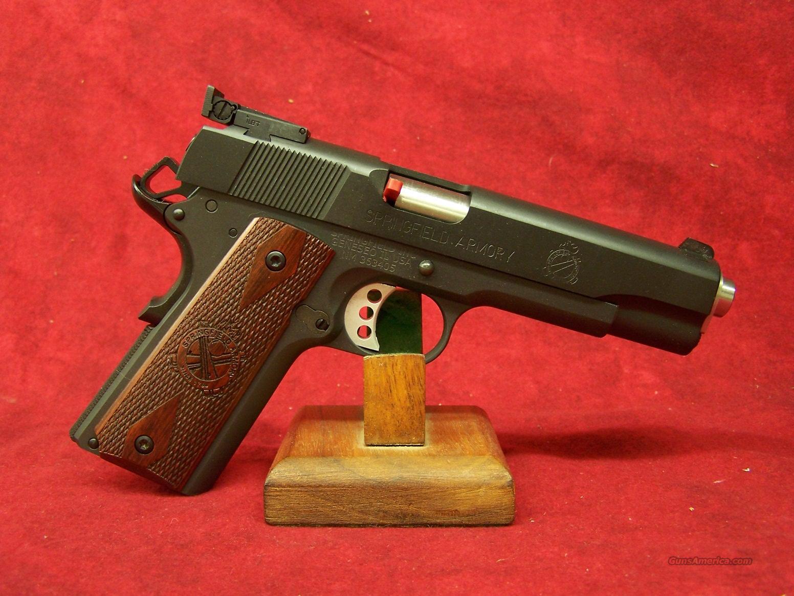 """Springfield Armory 1911 Range Officer 9mm 5"""" Barrel (PI9129L)  Guns > Pistols > Springfield Armory Pistols > 1911 Type"""