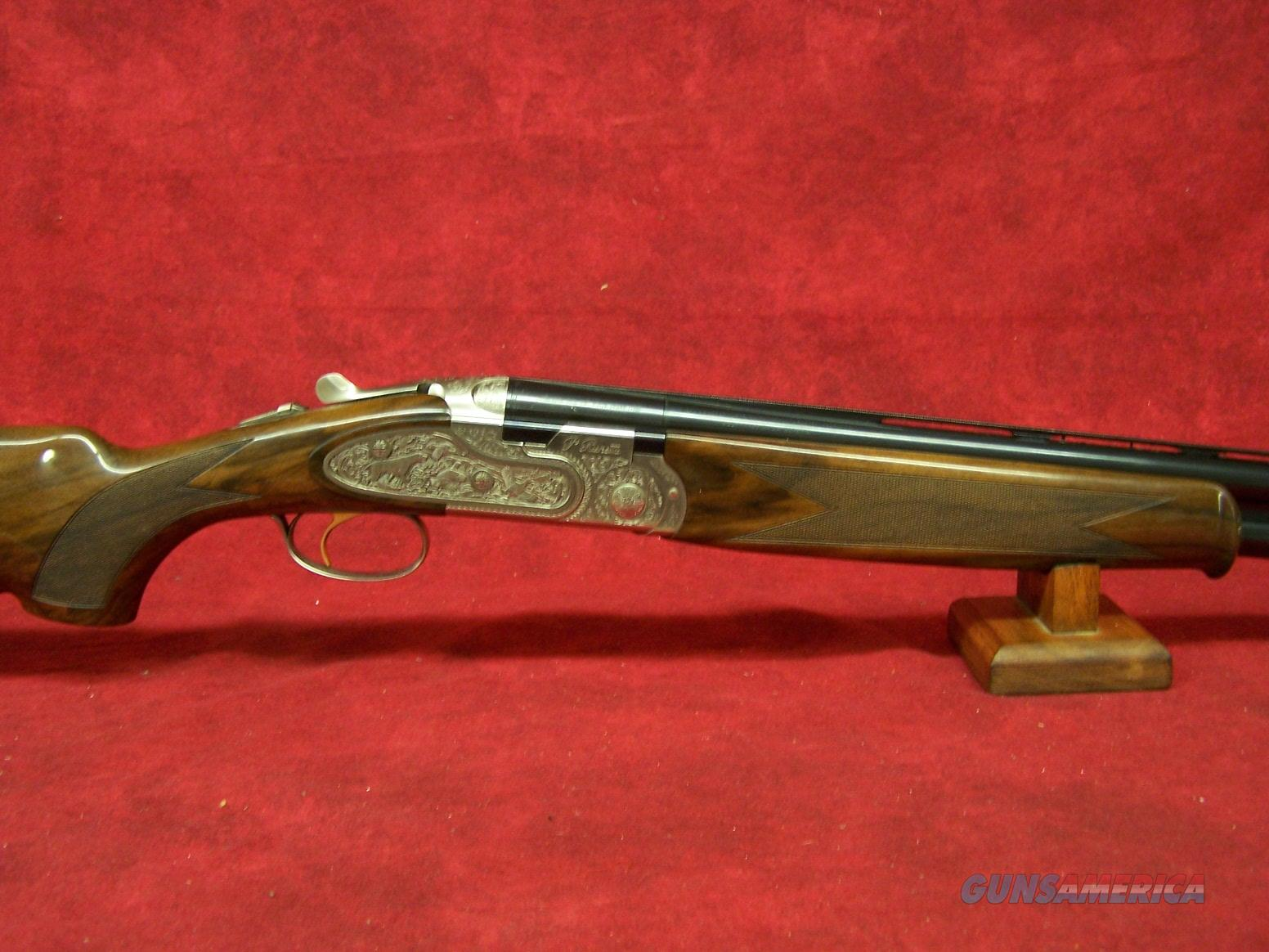 "Beretta 687 El 12ga 28"" Barrel Deep Relief Engraving  Guns > Shotguns > Beretta Shotguns > O/U > Hunting"