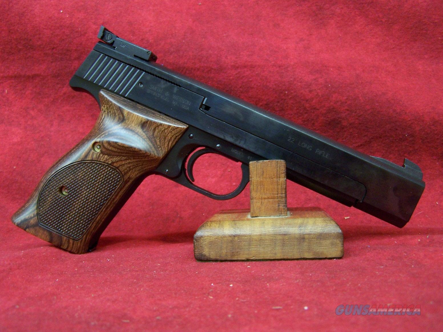 "Smith & Wesson 41 22LR 5.5"" Barrel (130511)  Guns > Pistols > Smith & Wesson Pistols - Autos > .22 Autos"