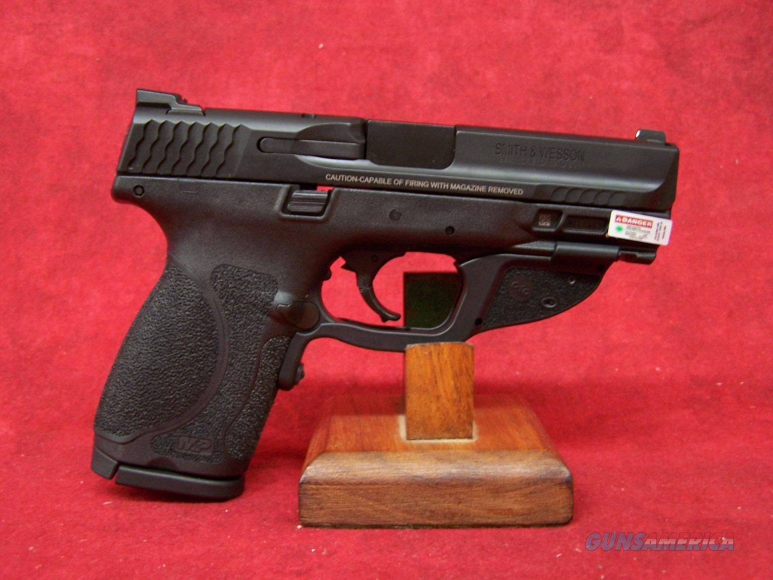 "Smith & Wesson M&P 9 M2.0 9mm COMPACT 4"" NTS GRN LASERGUARD (12413)  Guns > Pistols > Smith & Wesson Pistols - Autos > Polymer Frame"