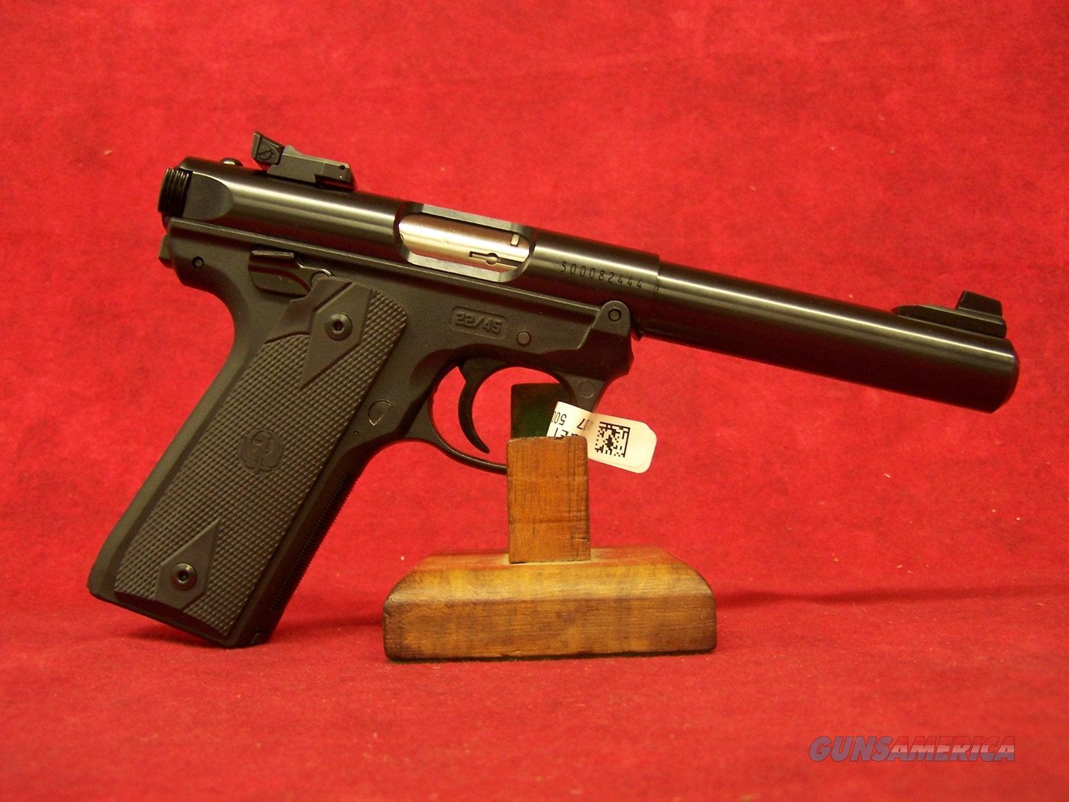 "Ruger Mark IV 22/45 Blued .22LR 5-1/2"" Barrel (40107)  Guns > Pistols > Ruger Semi-Auto Pistols > Mark I/II/III/IV Family"