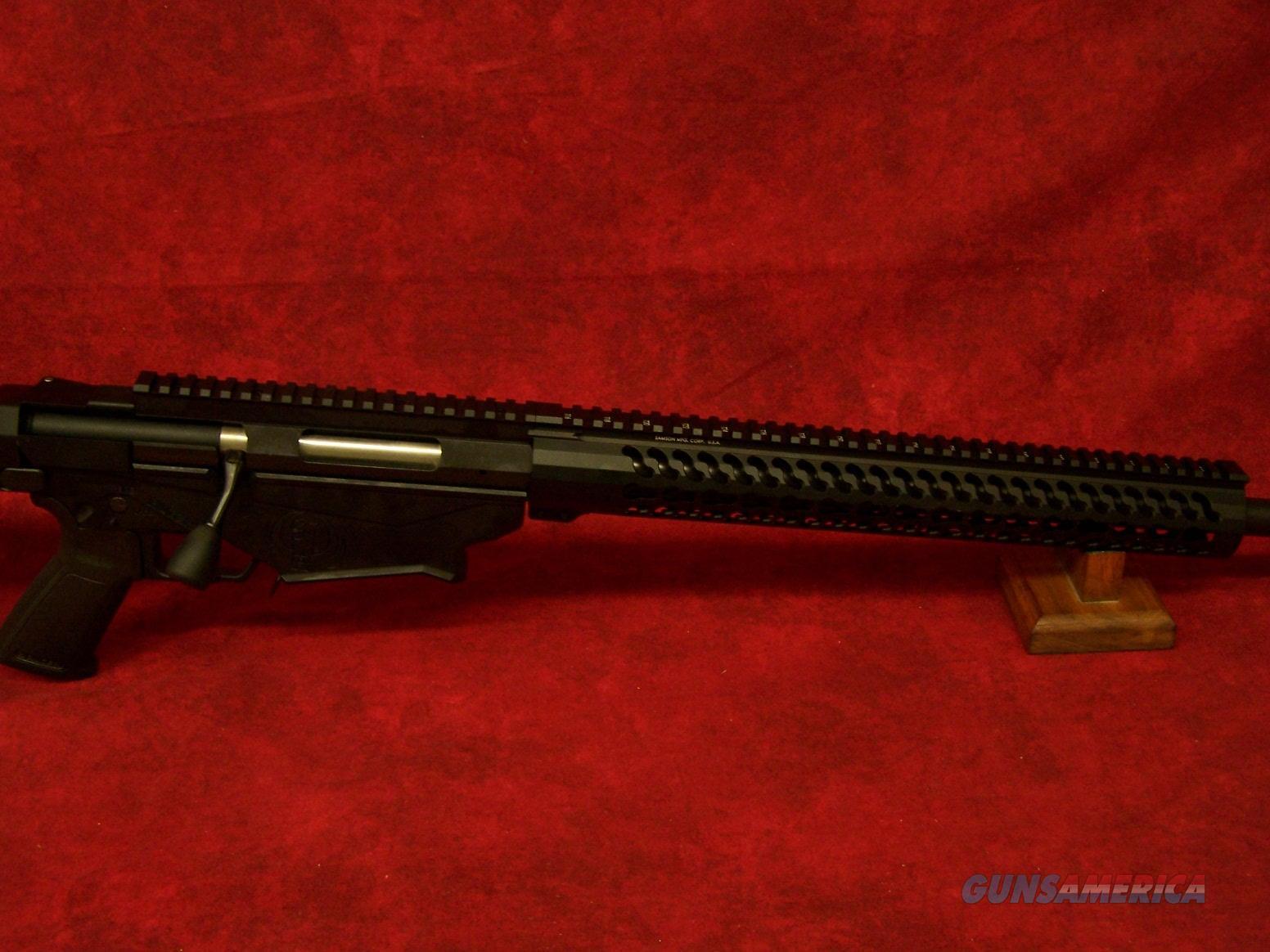 "Ruger Precision Bolt Action Rifle 6.5 Creedmoor 24"" Threaded Barrel 5R Rifling Samson Keymod Handguard Precision MSR Folding Adjustable Stock(18005)  Guns > Rifles > Ruger Rifles > Model 77"