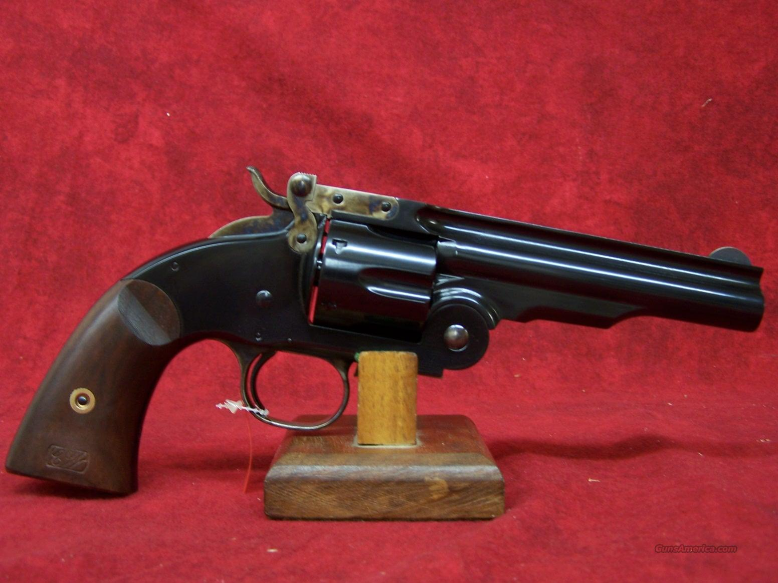 "Uberti 1875 Top Break No.3 2nd Model 5"" Blue/Walnut .45 Colt (348550)  Guns > Pistols > Uberti Pistols > Ctg."