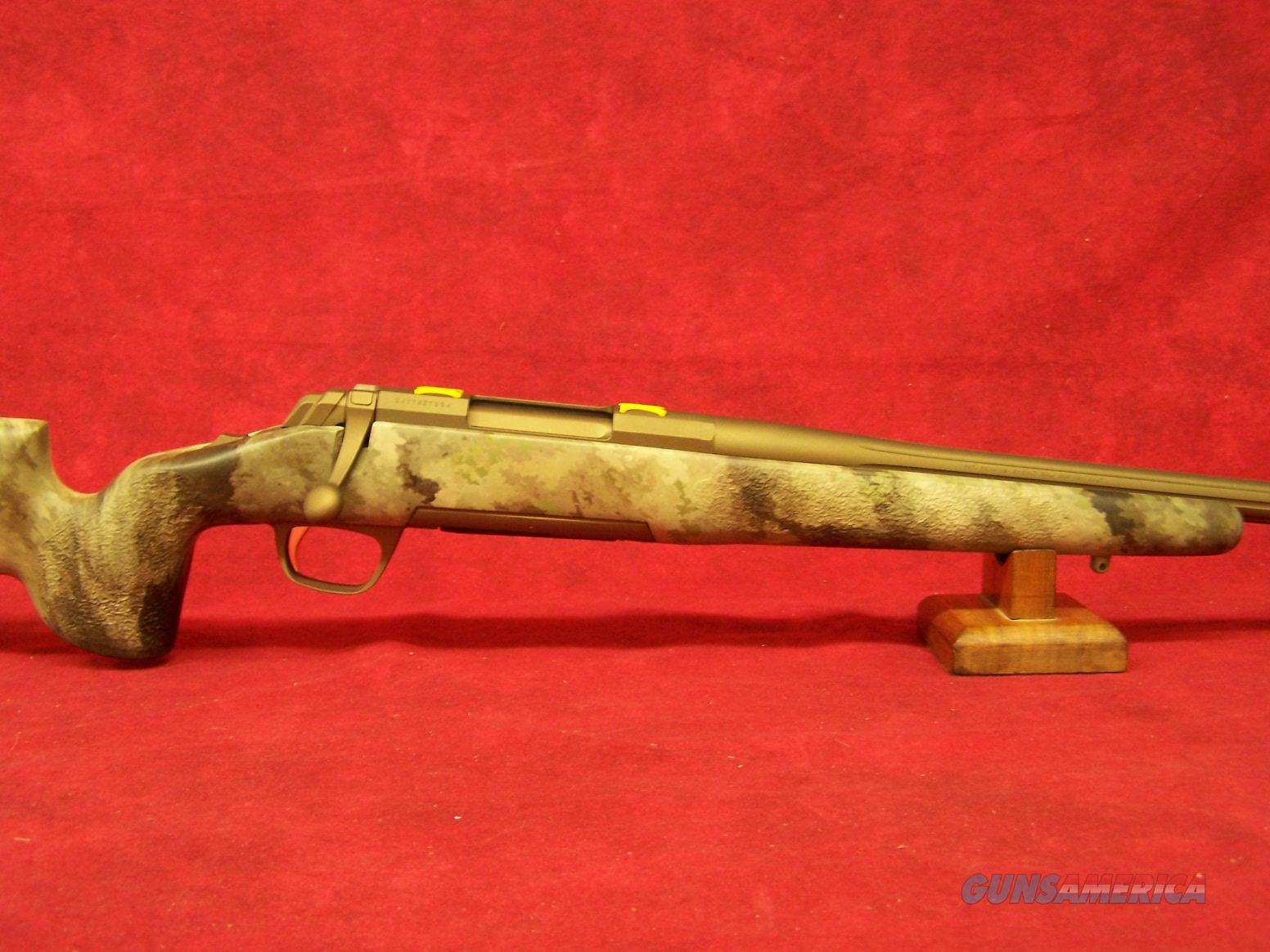 BROWNING X-BOLT HELLS CANYON LR McMillan 300 WSM MUZZLE BRAKE (035395246)  Guns > Rifles > Browning Rifles > Bolt Action > Hunting > Blue