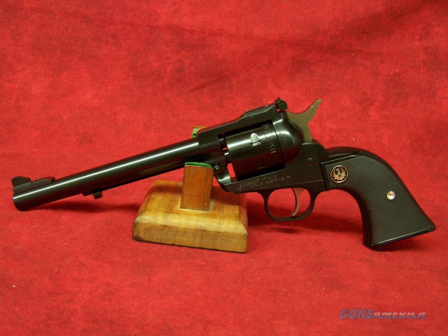 """RUGER SINGLE SIX 17 HMR 6.5"""" AS BLUED 6RD (00661)  Guns > Pistols > Ruger Single Action Revolvers > Single Six Type"""