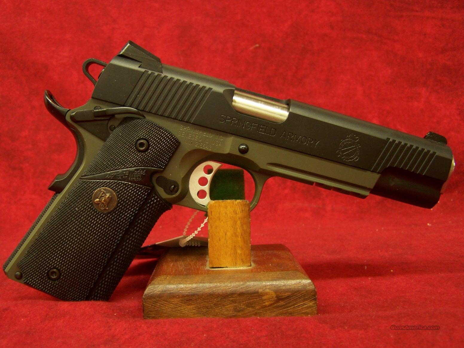 Springfield Armory Loaded Operator OD Green .45ACP(PX9105MLP)  Guns > Pistols > Springfield Armory Pistols > 1911 Type