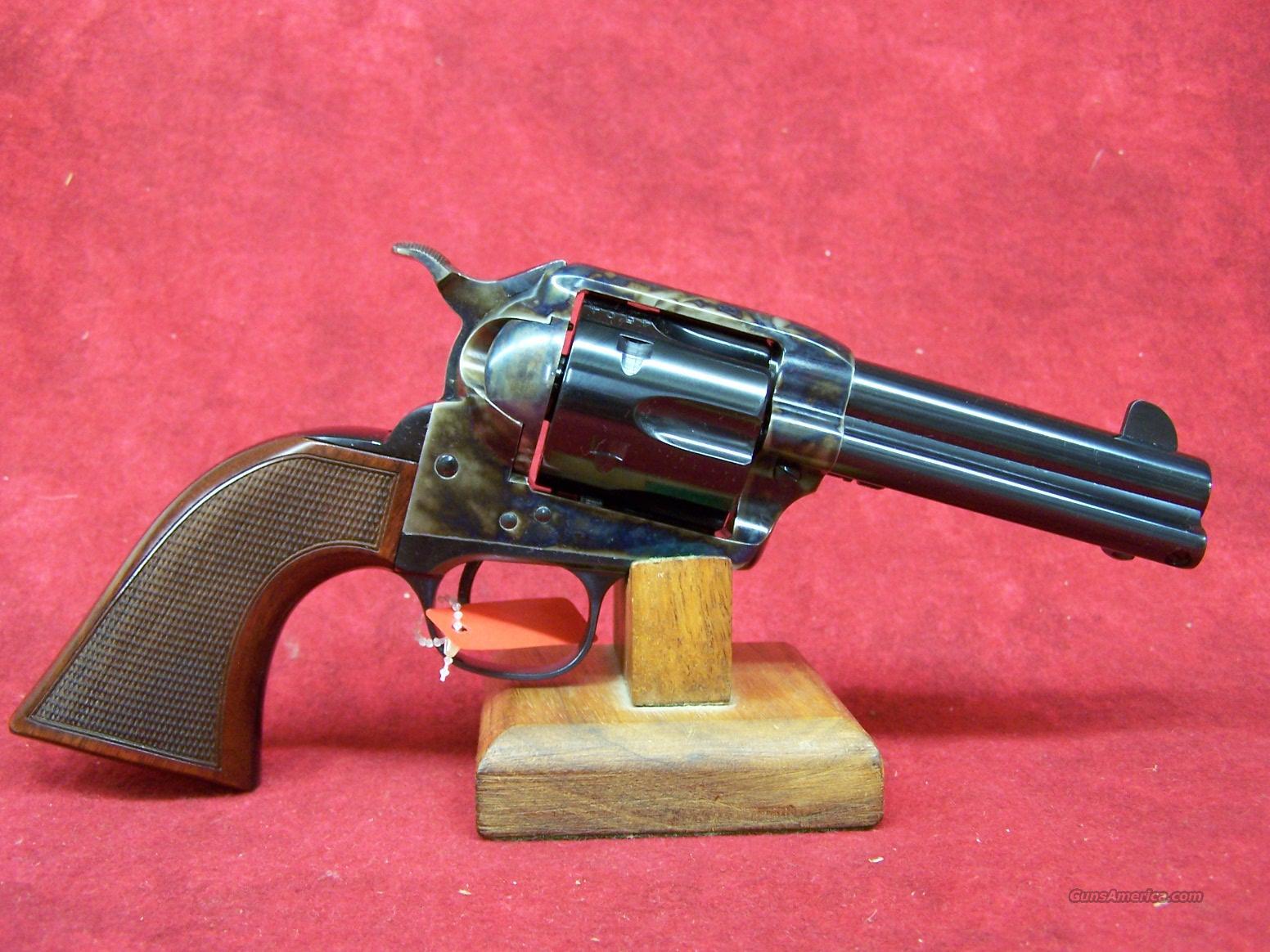 "Uberti 1873 Cattleman El Patron (CMS) NM Blue .45LC 4"" (349997)  Guns > Pistols > Uberti Pistols > Ctg."