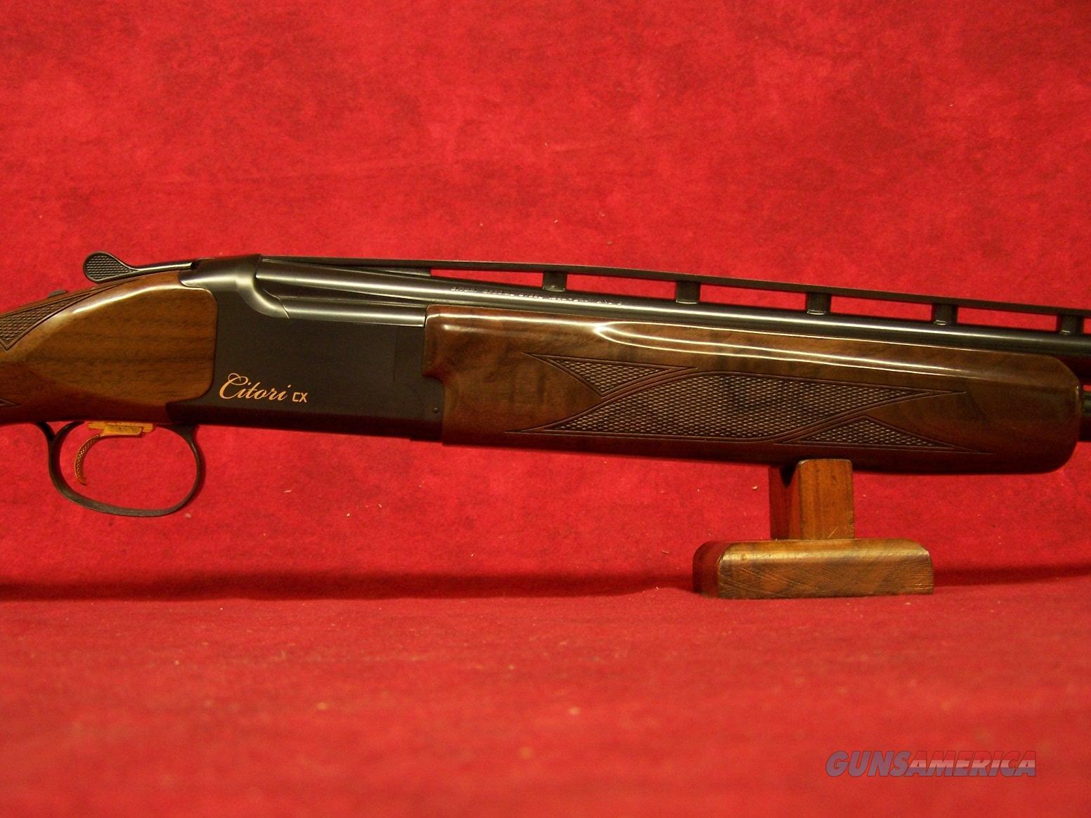 "Browning Citori CX 12ga 3"" Chamber 28"" Barrel (018115304)  Guns > Shotguns > Browning Shotguns > Over Unders > Citori > Trap/Skeet"