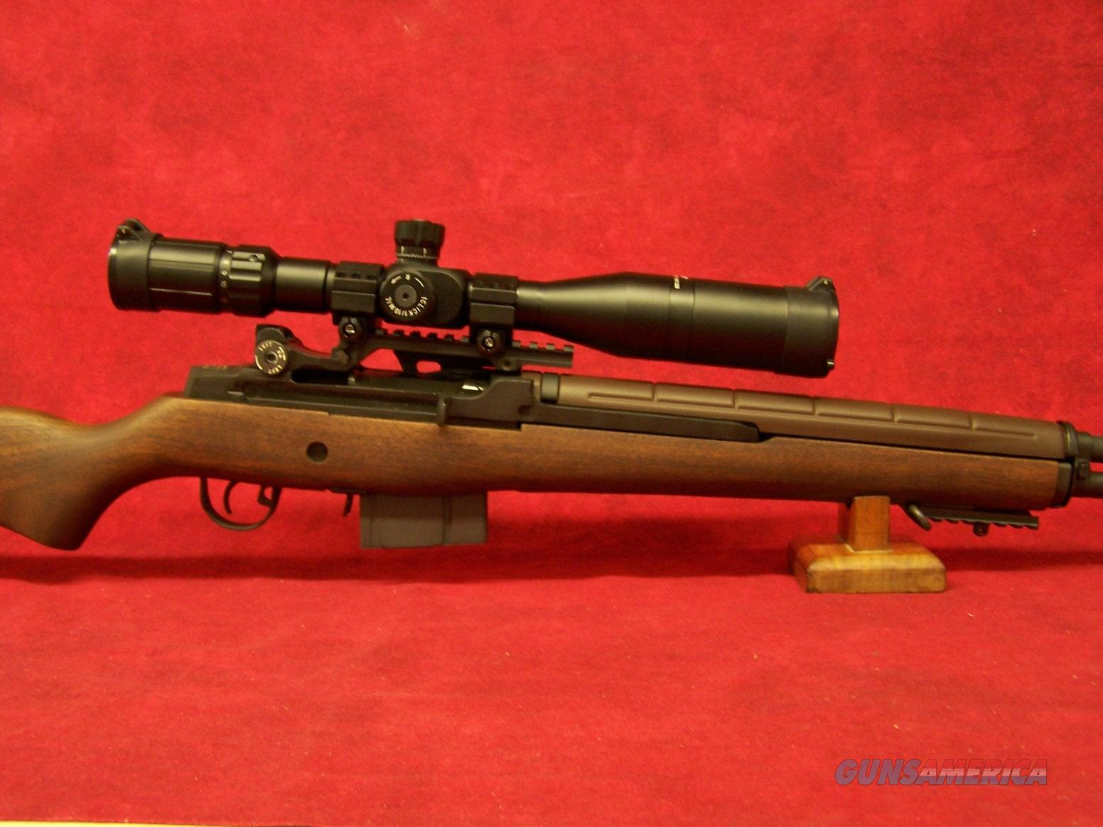 Springfield Armory M1A National Match Rifle Walnut/Chrome Moly  Barrel 7.62(308 win)(NA9102) with Accessories  Guns > Rifles > Springfield Armory Rifles > M1A/M14
