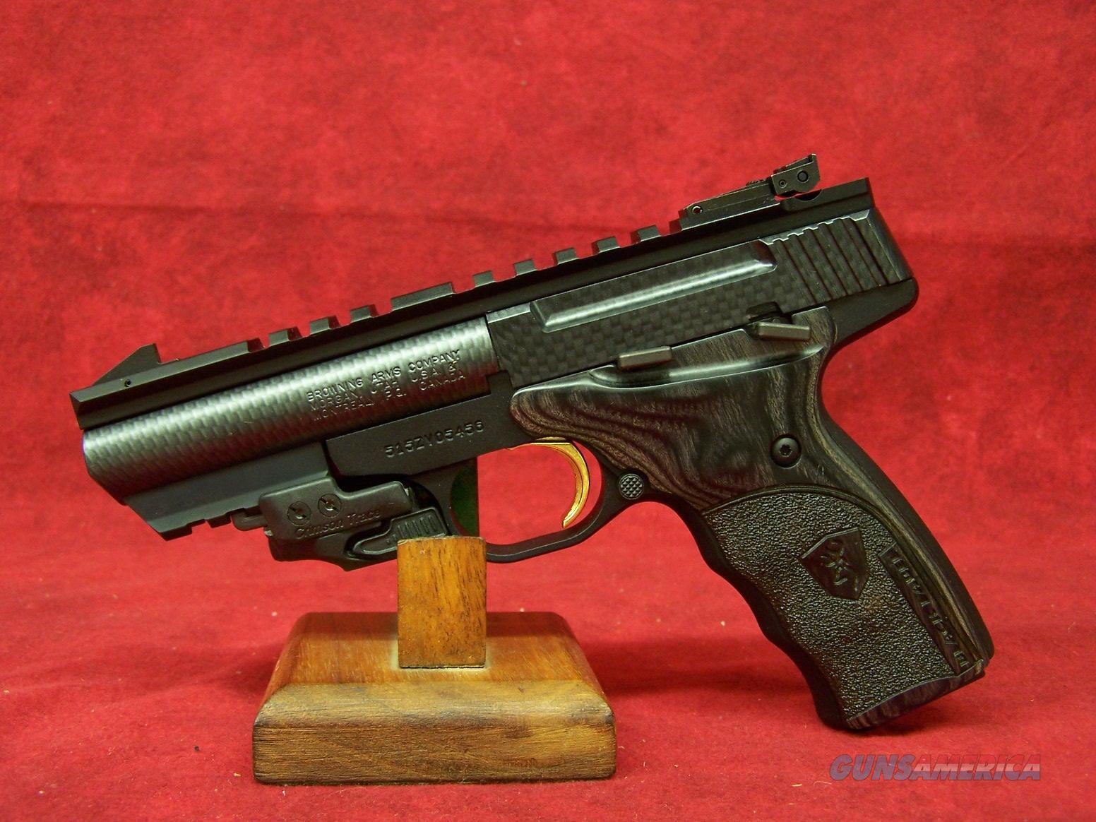 "Browning Buck Mark Black Label 4"" Carbon Fiber wrapped barrel.  (051511490)  Guns > Pistols > Browning Pistols > Buckmark"