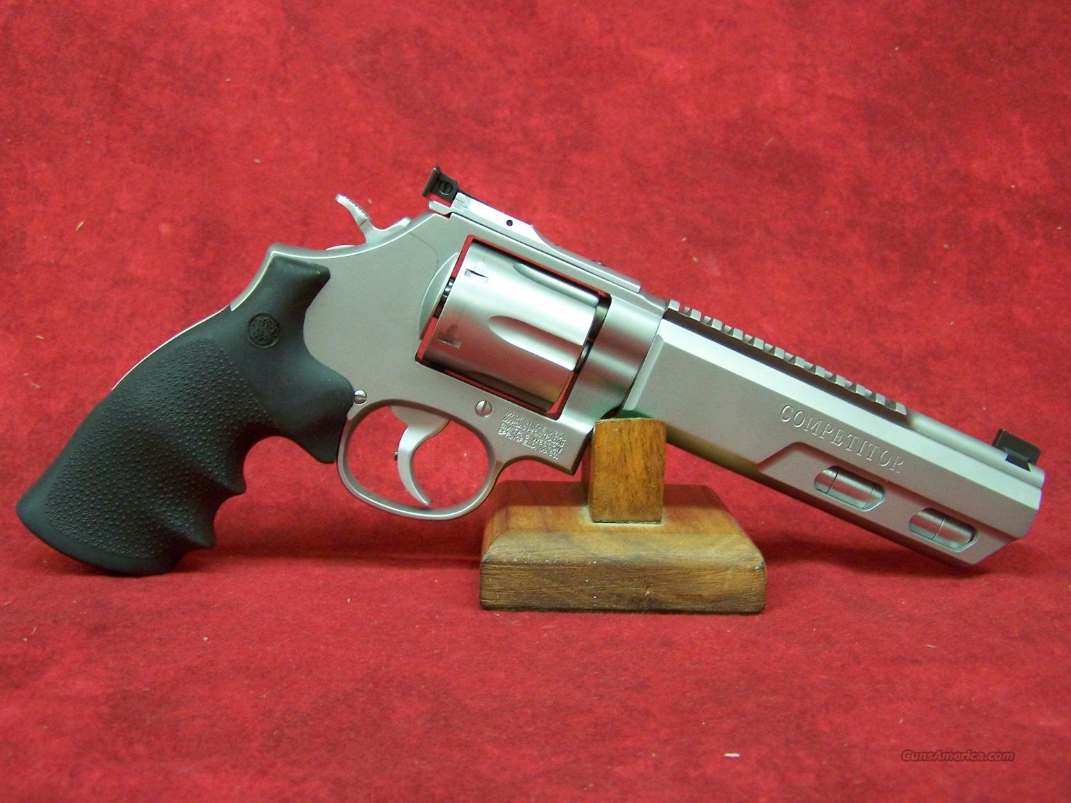 "Smith & Wesson 686 Competitor .357 Mag 6"" Weighted Barrel (170319)  Guns > Pistols > Smith & Wesson Revolvers > Performance Center"
