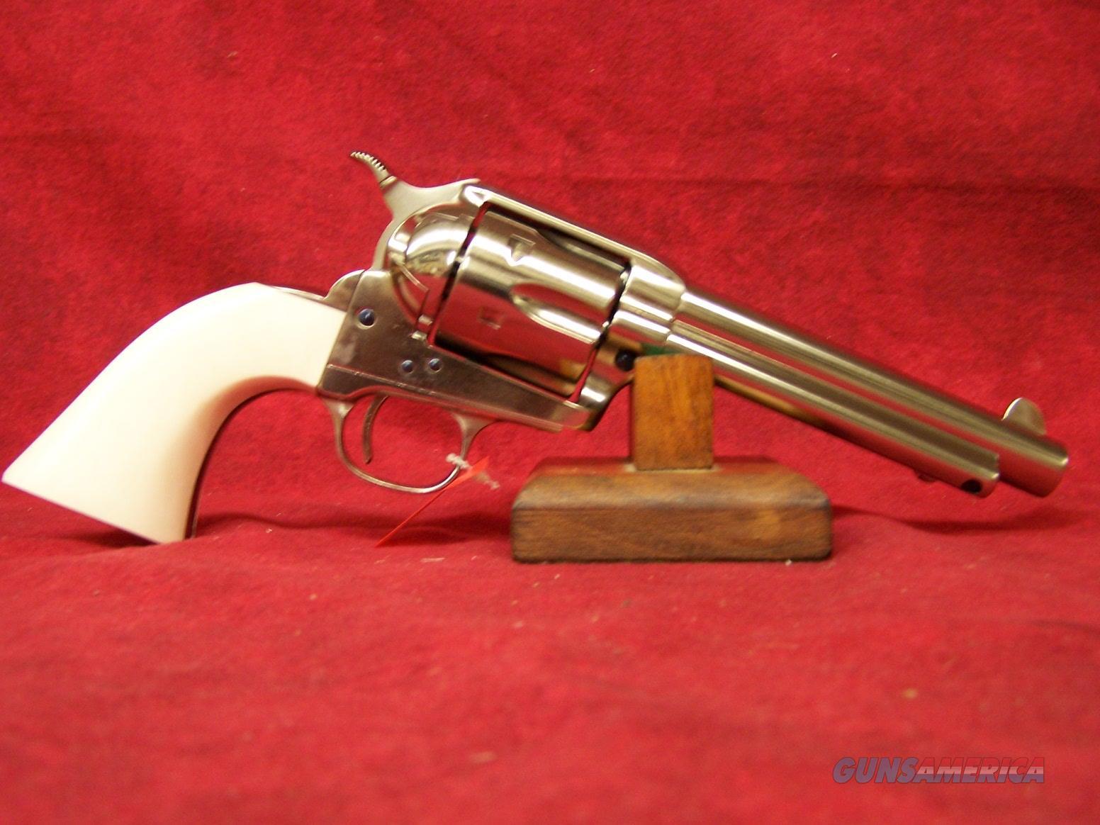 """Uberti 1873 SASS Short Stroke Pro Nickel  .357 Mag  5.5"""" Barrel (356N30)  Guns > Pistols > Uberti Pistols > Ctg."""