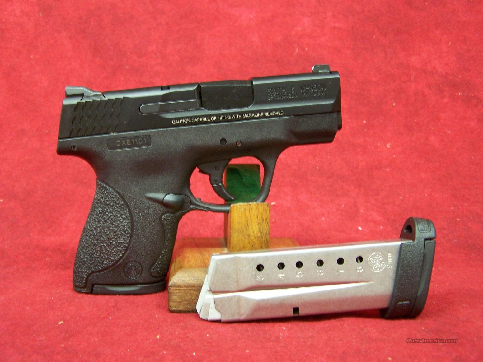 Smith & Wesson M&P Shield 9mm (180021)  Guns > Pistols > Smith & Wesson Pistols - Autos > Polymer Frame