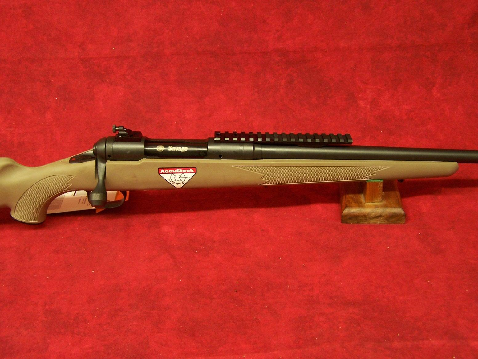 "Savage 11 Scout .308 Win 18"" Barrel Matte Black Muzzle Brake Adj Sights Synthetic Stock FDE Finish 10 Rnd (22443)  Guns > Rifles > Savage Rifles > 11/111"