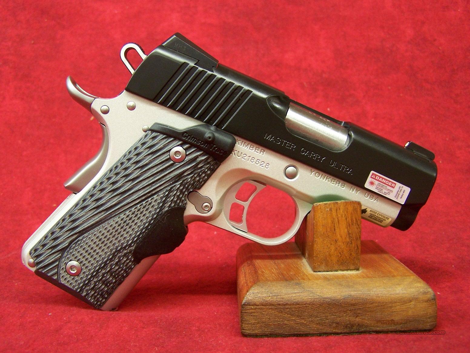 Kimber Master Carry Ultra .45ACP (30284)  Guns > Pistols > Kimber of America Pistols