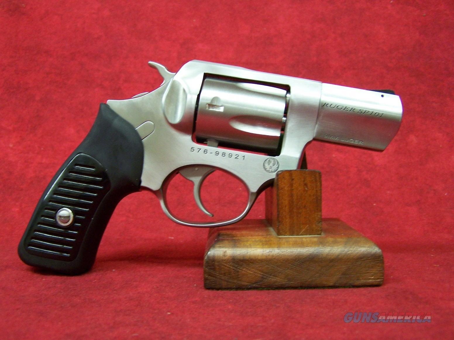 """Ruger SP101 9mm Luger 2.25"""" (5783)  Guns > Pistols > Ruger Double Action Revolver > SP101 Type"""