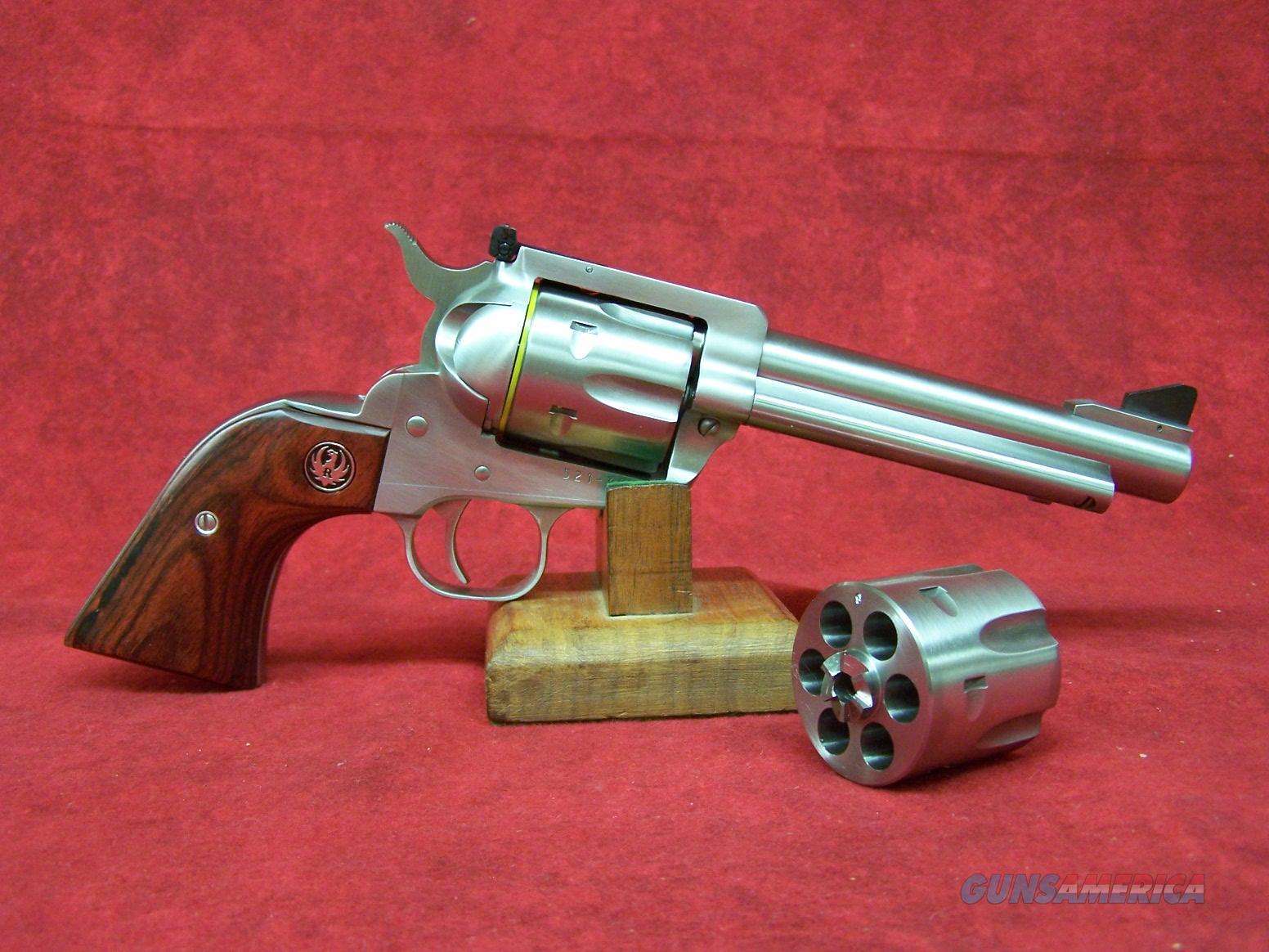 "Ruger New Model Blackhawk Flattop 357/9MM SS/WD 5.5"" barrel (05247)  Guns > Pistols > Ruger Single Action Revolvers > Blackhawk Type"
