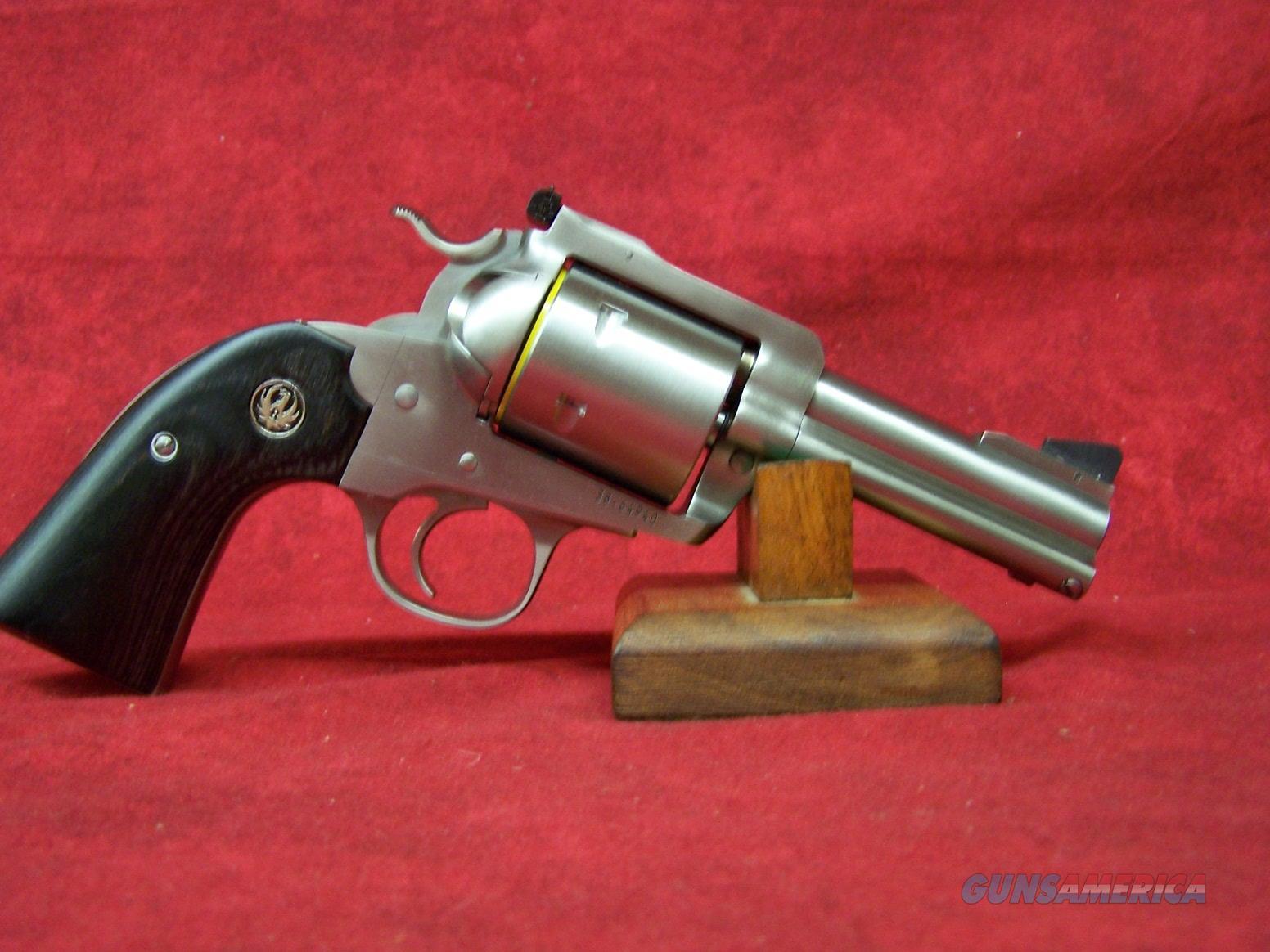 "Ruger Super Blackhawk Bisley 45 ACP | 45 COLT 3.75""  SS Barrel (00475)  Guns > Pistols > Ruger Single Action Revolvers > Blackhawk Type"