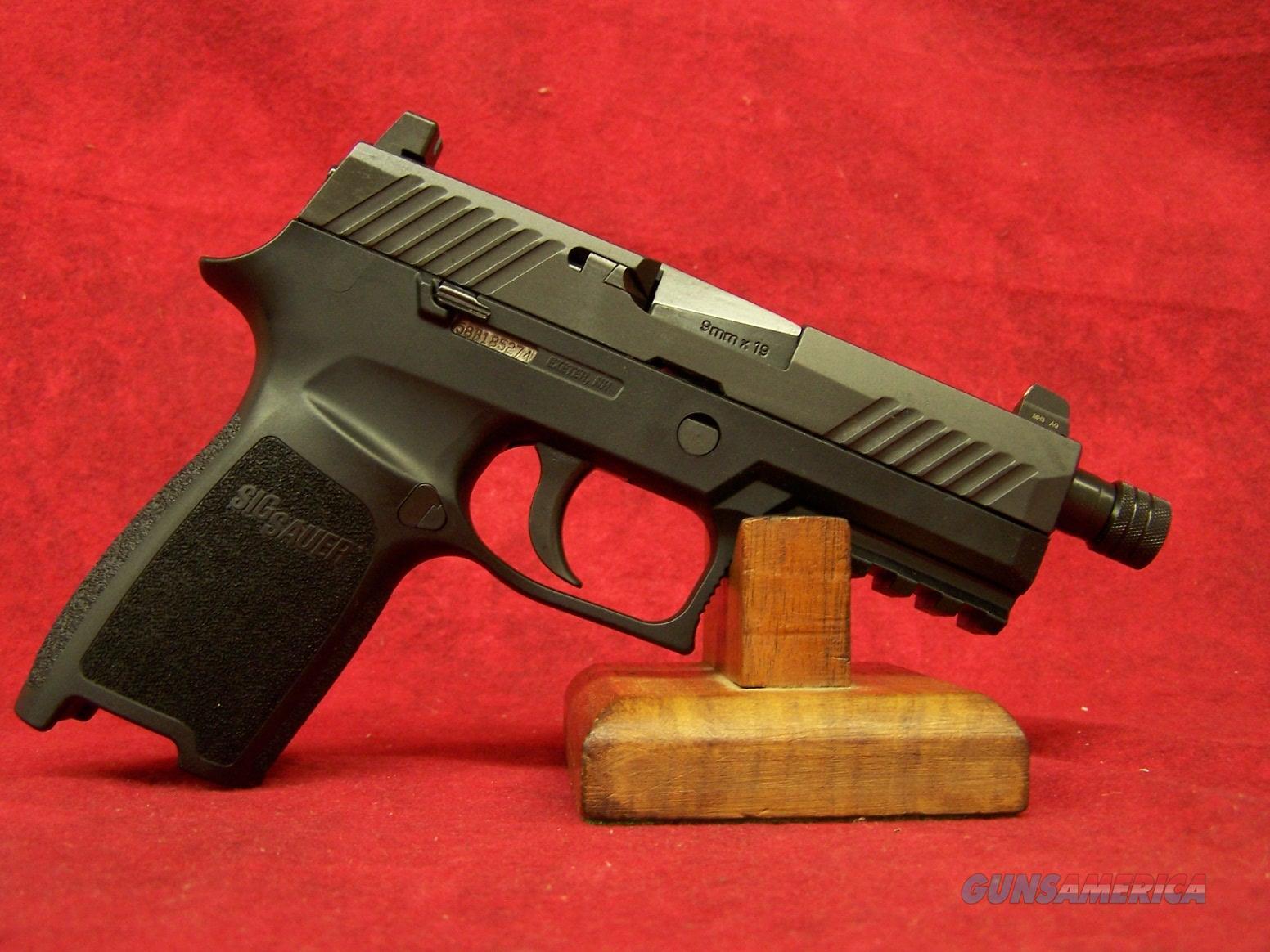 """Sig Sauer P320 Carry TACOPS 9MM 3.9"""" Barrel (320CA-9-TACOPS-TB)  Guns > Pistols > Sig - Sauer/Sigarms Pistols > P320"""