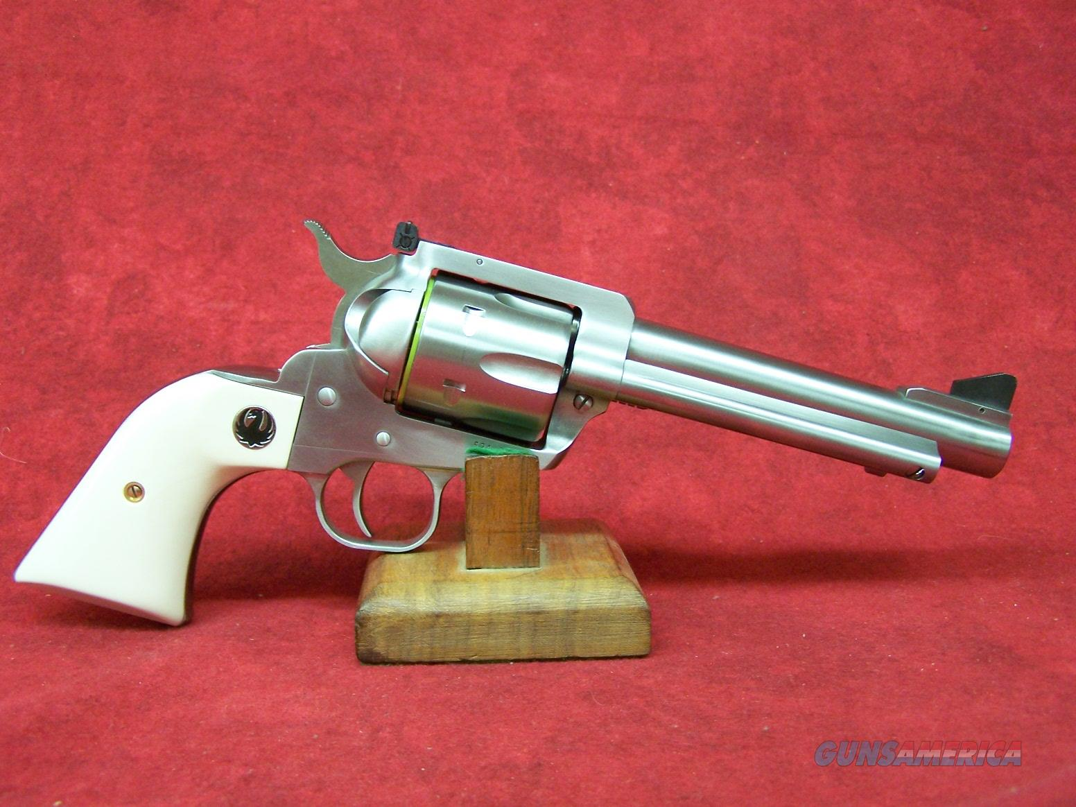 "RUGER BLACKHAWK FLATTOP 45 ACP | 45 COLT SS/IVORY 5.5"" (05241)  Guns > Pistols > Ruger Single Action Revolvers > Blackhawk Type"
