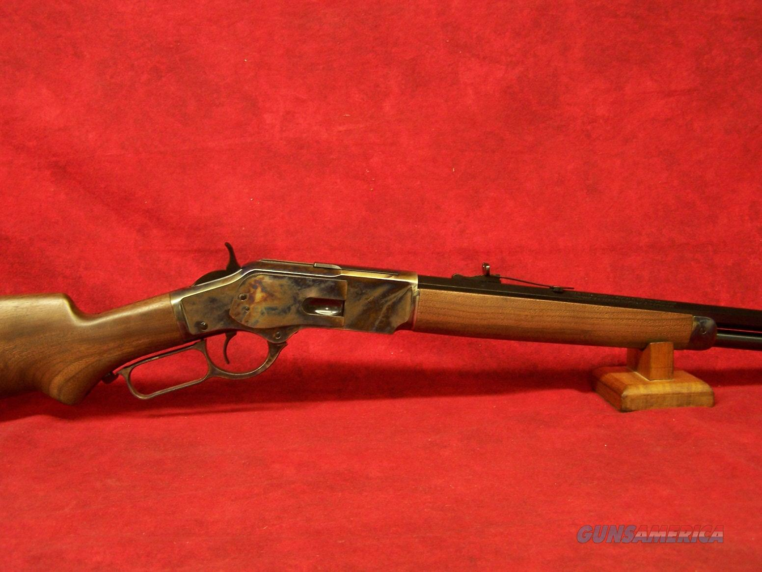 "Winchester 73 Sporter 44-40 Case Hardened 24"" Octagon Pistol Grip (534228140)   Guns > Rifles > Winchester Rifles - Modern Lever > Other Lever > Post-64"
