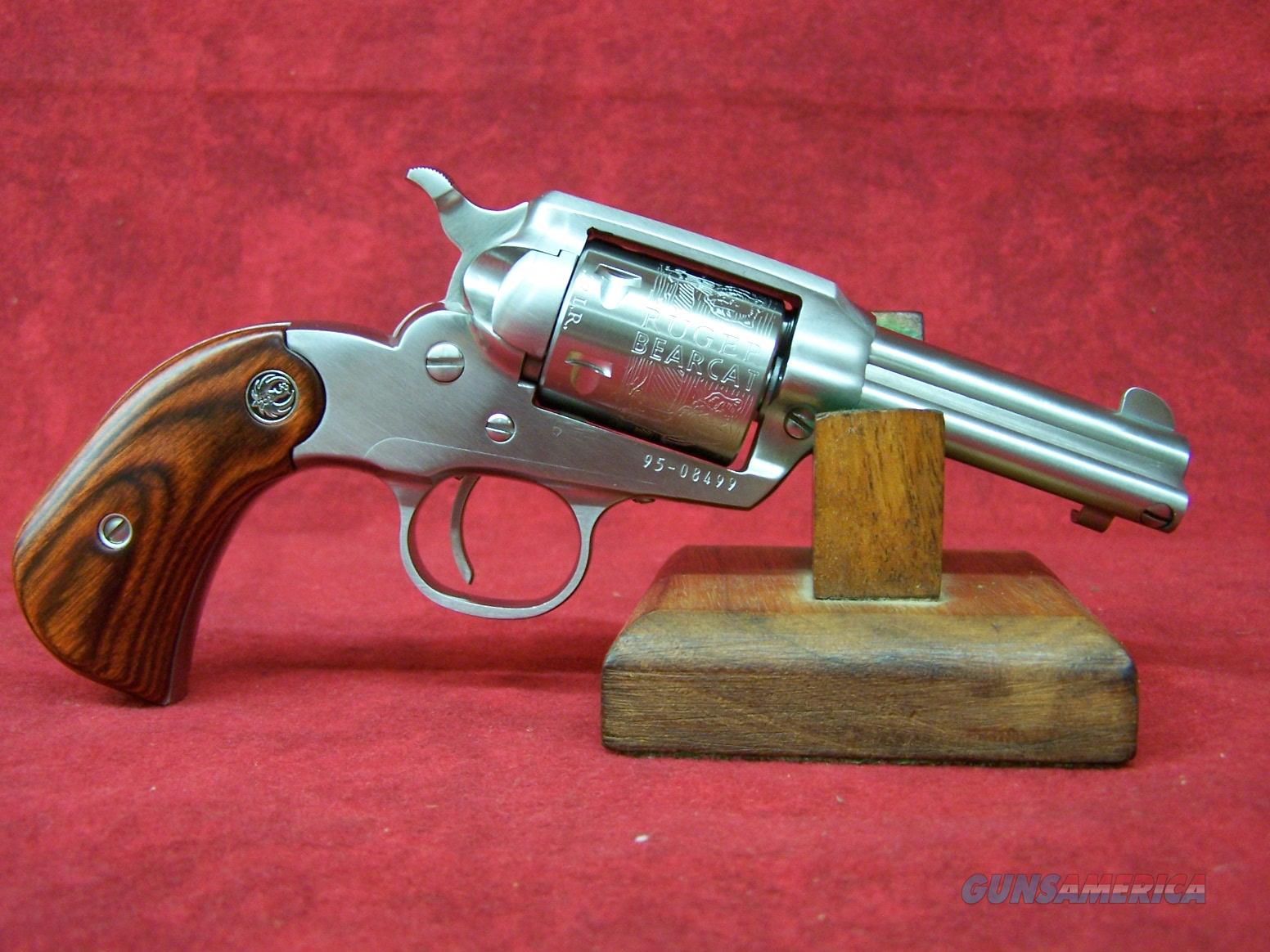"RUGER BEARCAT SHOPKEEPER 22LR 3"" SS (00915)  Guns > Pistols > Ruger Single Action Revolvers > Bearcat"