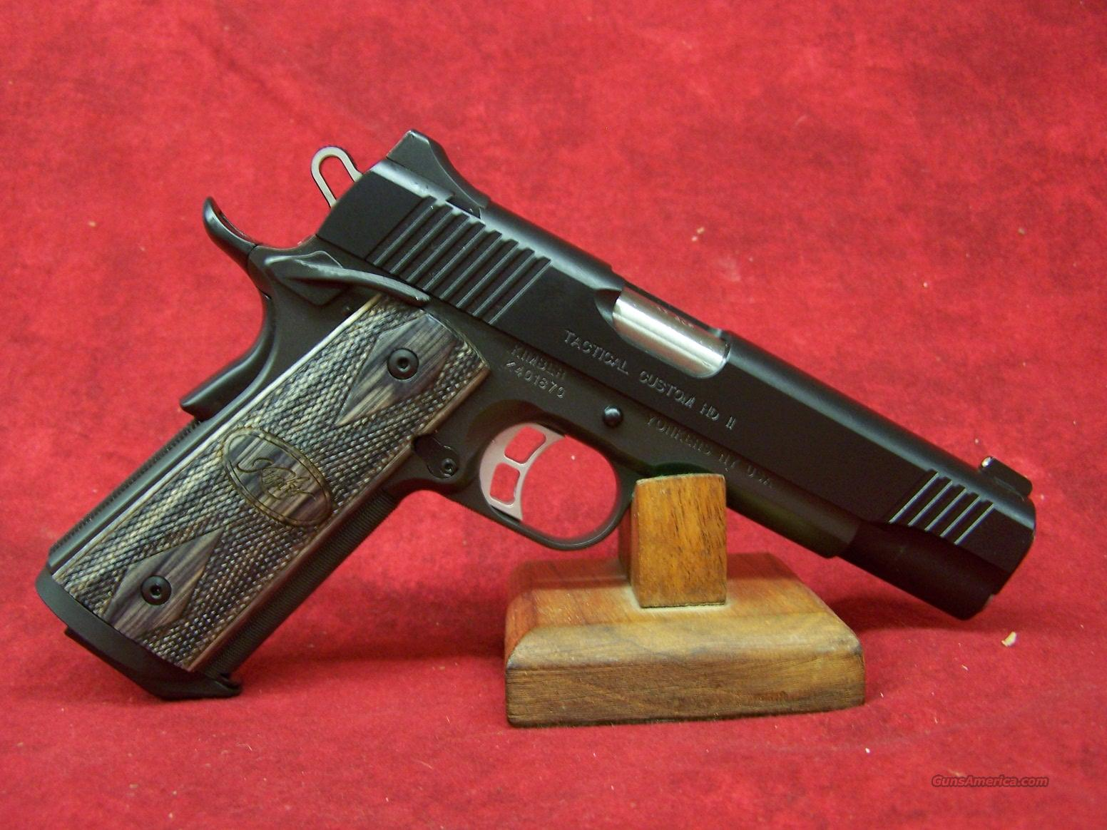 Kimber Tactical Custom HD II .45ACP (32197)  Guns > Pistols > Kimber of America Pistols