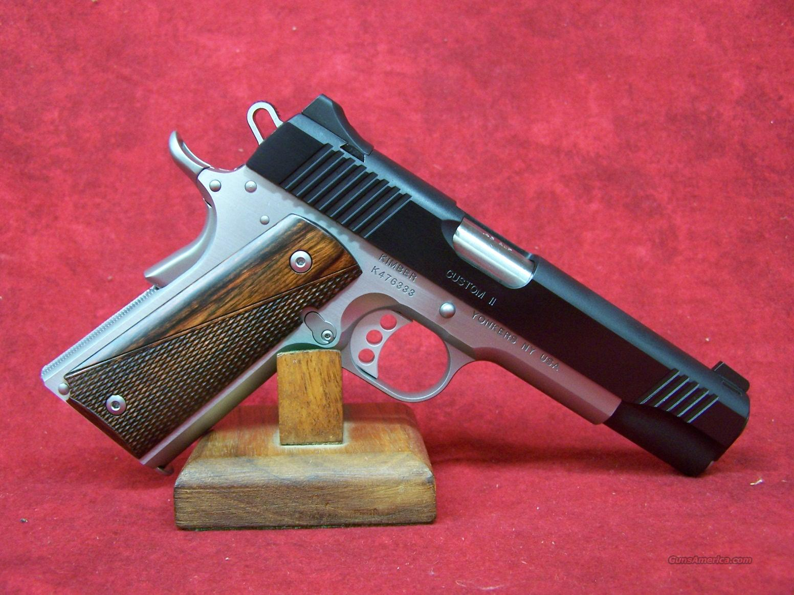 Kimber Custom II Two-Tone .45ACP (32301)  Guns > Pistols > Kimber of America Pistols