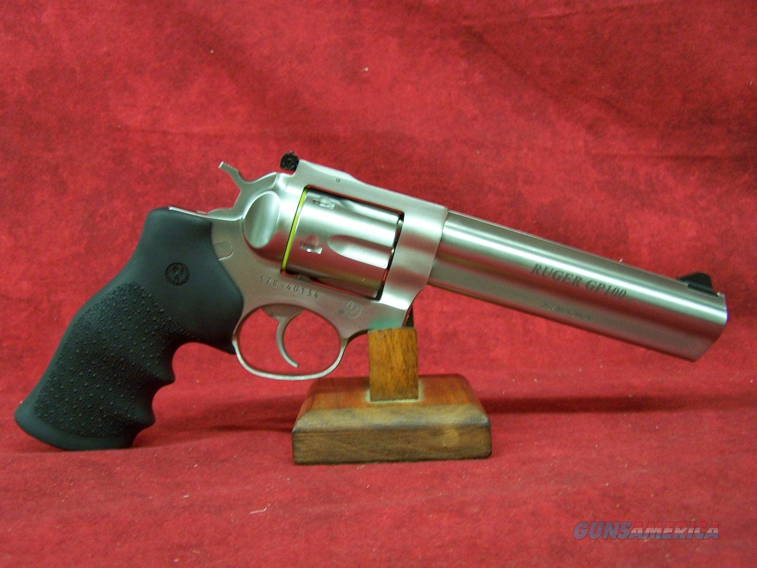 "Ruger GP100 6"" SS Barrel .357 Mag (01707)  Guns > Pistols > Ruger Double Action Revolver > SP101 Type"