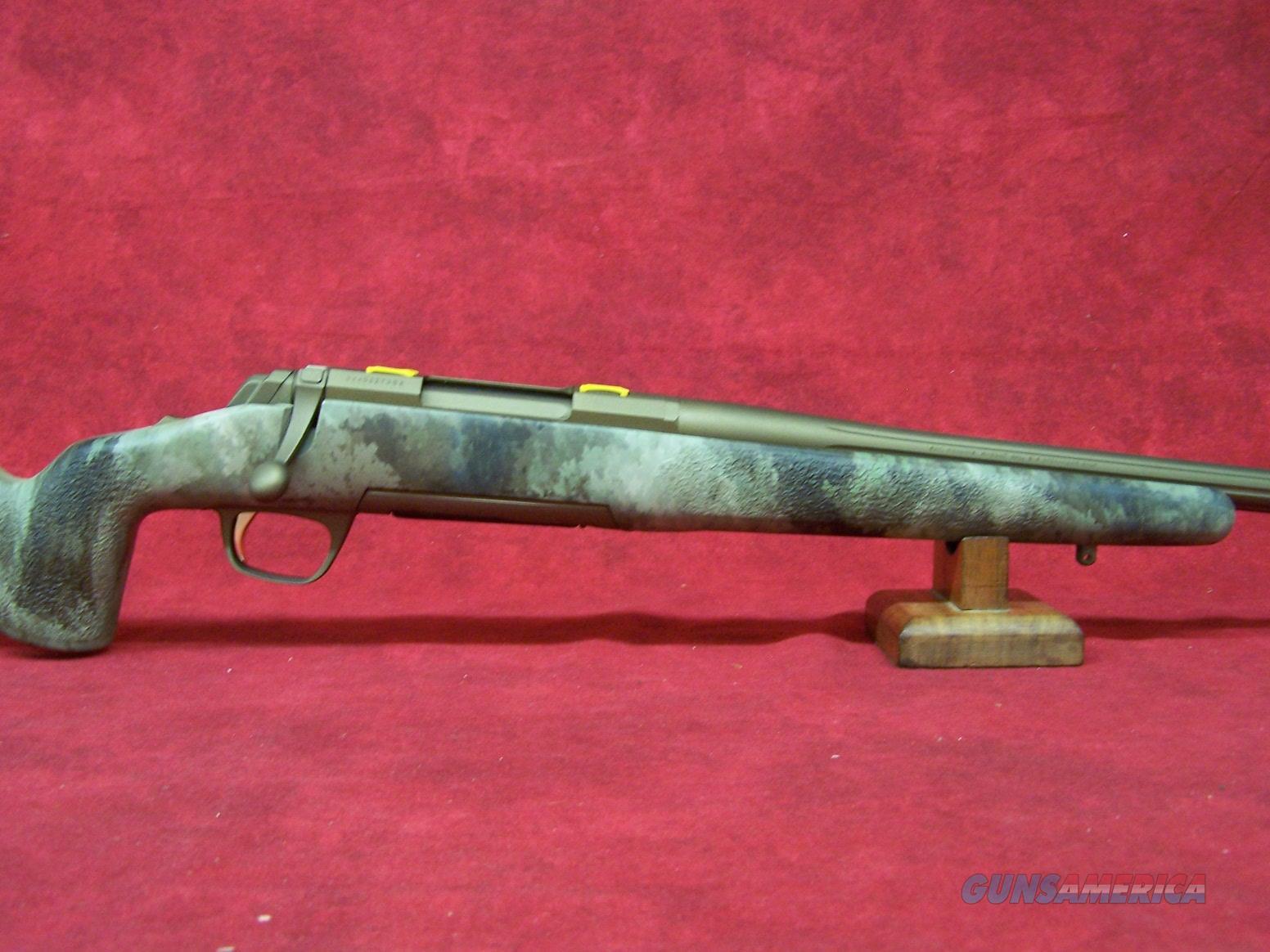 "Browning X-Bolt Hell's Canyon Long Range McMillan 6.5 Creedmoor 26"" Barrel (035395282)  Guns > Rifles > Browning Rifles > Bolt Action > Hunting > Blue"