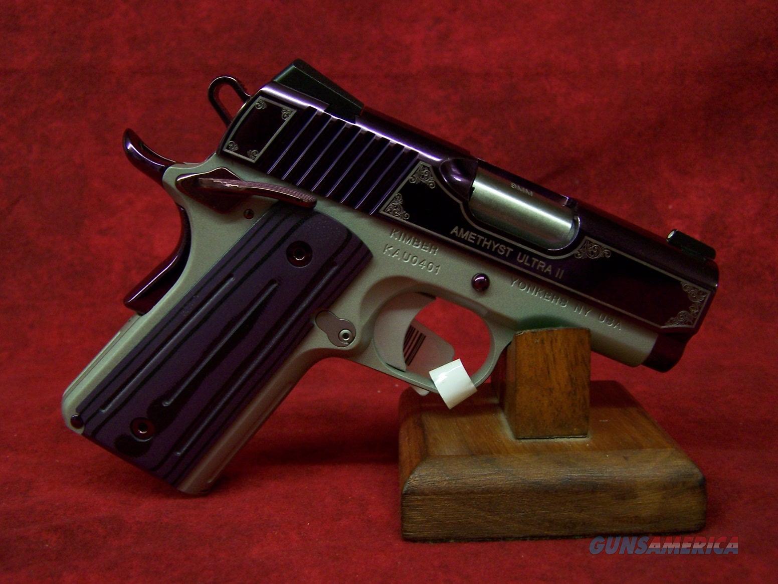 "Kimber Amethyst Ultra II .45 ACP  3"" (32363)  Guns > Pistols > Kimber of America Pistols"
