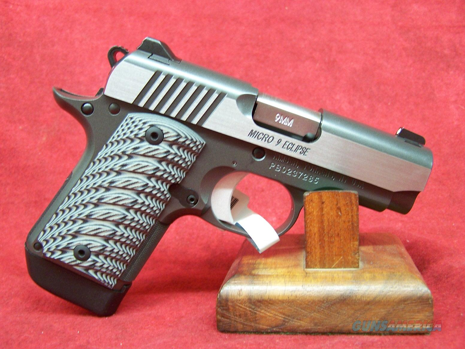 Kimber Micro 9 Eclipse 9mm NS (33189)  Guns > Pistols > Kimber of America Pistols > Micro 9