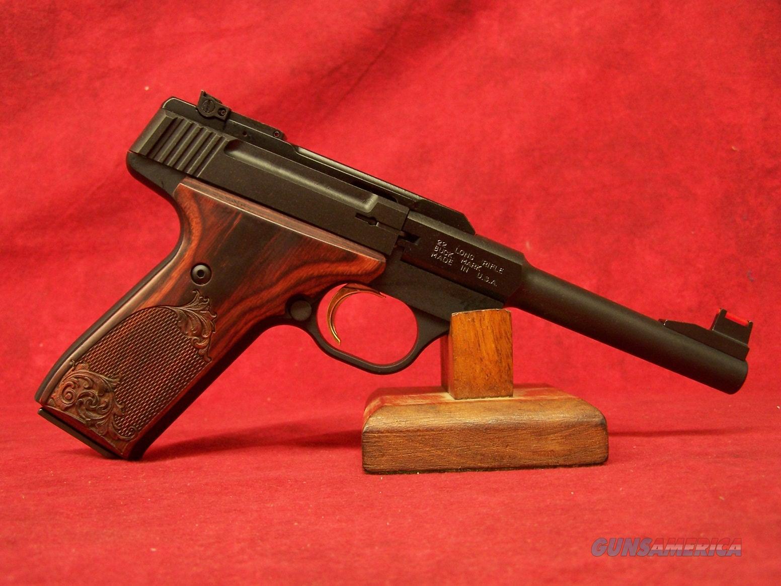 "Browning Buck Mark Challenge Rosewood .22LR 5.5"" Barrel (051519490)  Guns > Pistols > Browning Pistols > Buckmark"
