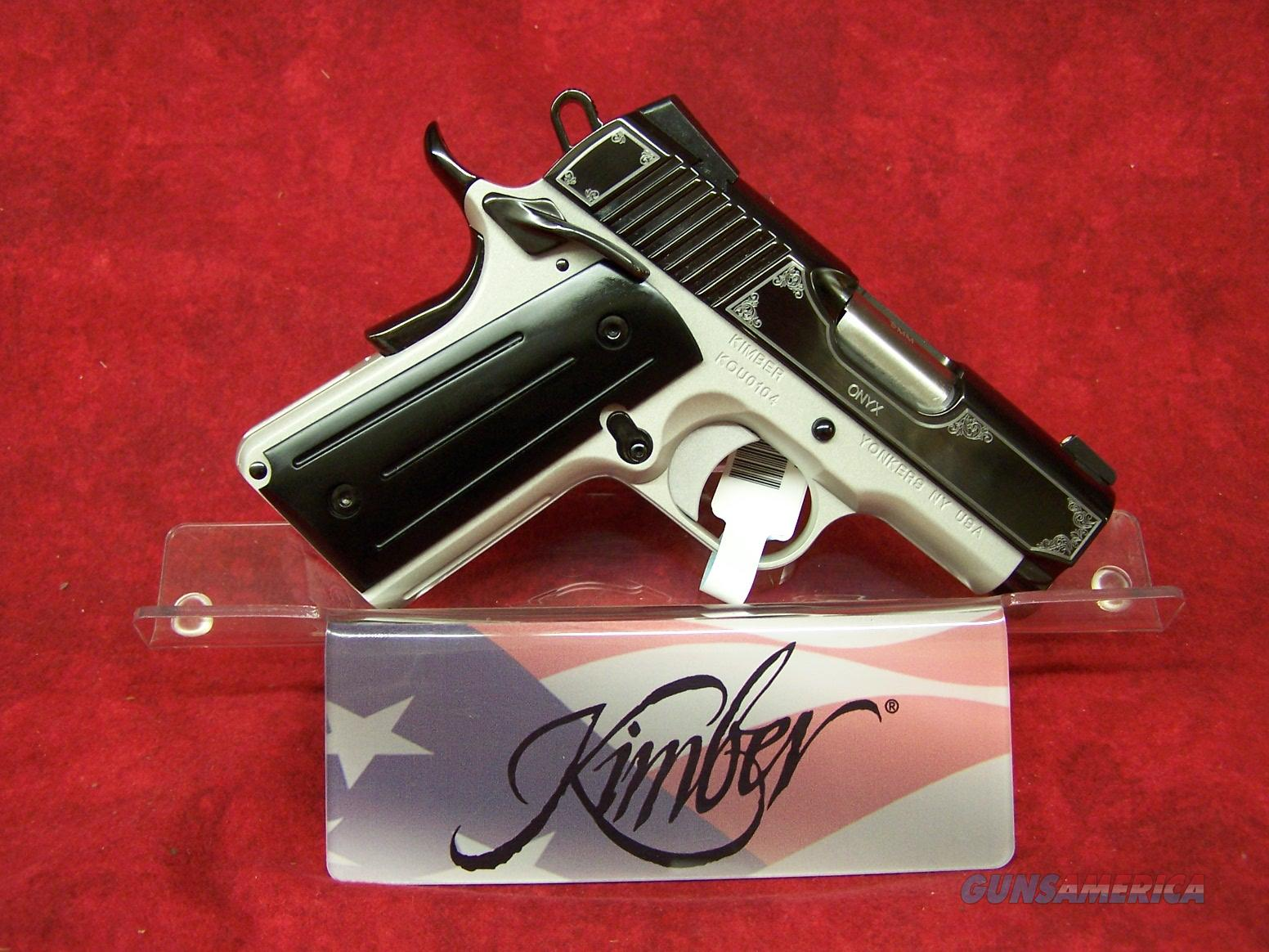 Kimber Onyx Ultra 9mm (32308)  Guns > Pistols > Kimber of America Pistols