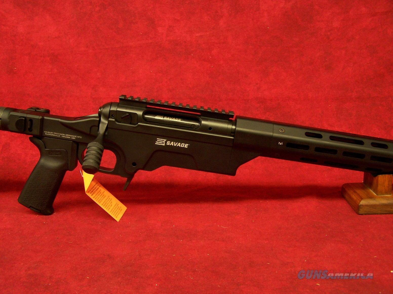 "SAVAGE 10 ASHBURY PRECISION 6.5 CREEDMOOR 24"" THREADED MUZZLE FOLDING STOCK  (22632)  Guns > Rifles > Savage Rifles > 10/110"