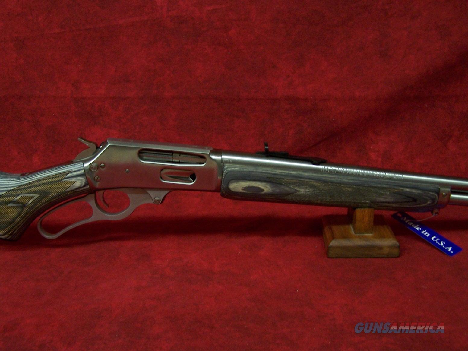 "Marlin Model 336XLR .30-30 Win 24"" SS Black and Grey Laminated Hardwood Stock (70530)  Guns > Rifles > Marlin Rifles > Modern > Lever Action"