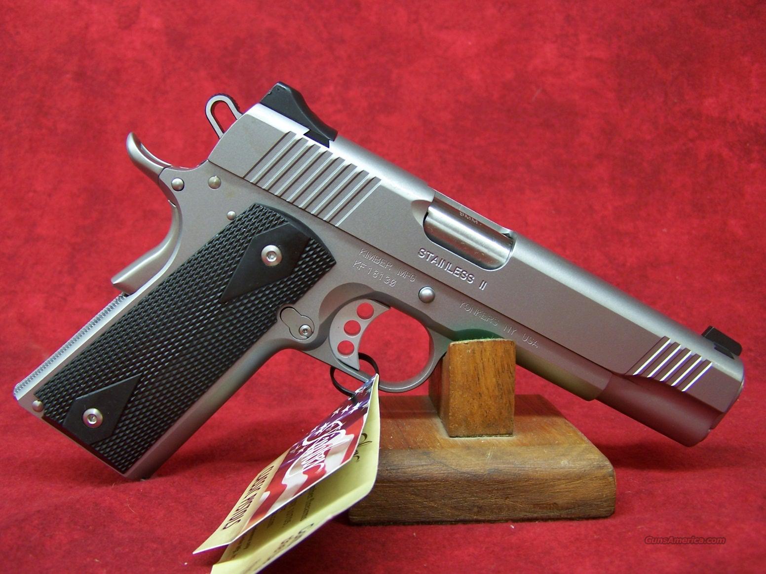 Kimber Stainless II 9mm (32179)  Guns > Pistols > Kimber of America Pistols