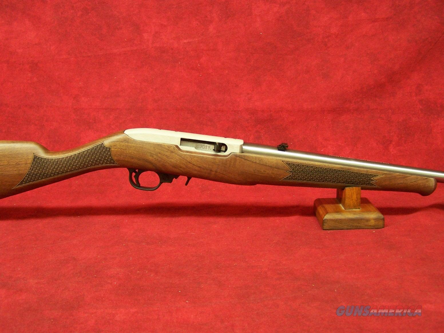 "Ruger 10/22 CLASSIC V 22LR SS BLACK WALNUT TALO 20"" (01297)  Guns > Rifles > Ruger Rifles > 10-22"