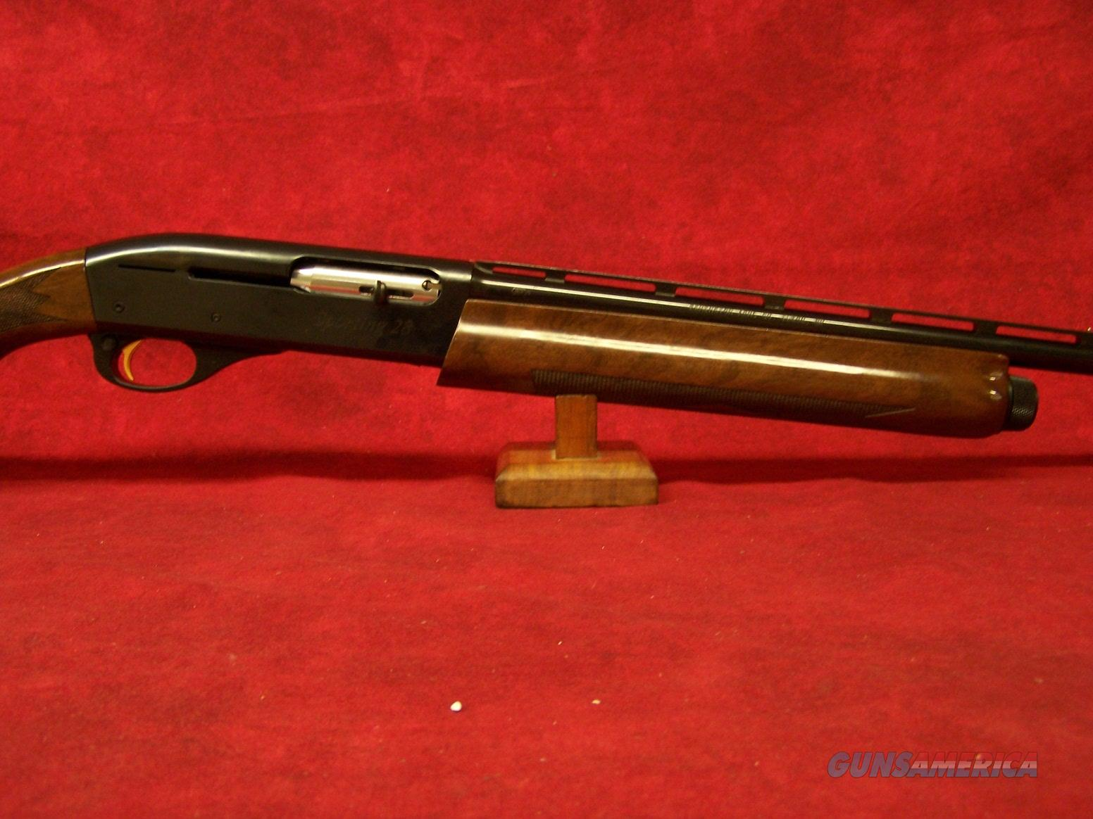 "Remington 1100 Sporting 28 Ga 27"" Vent Rib Barrel Blue Finish 2.75"" Chamber (29583)  Guns > Shotguns > Remington Shotguns  > Autoloaders > Trap/Skeet"