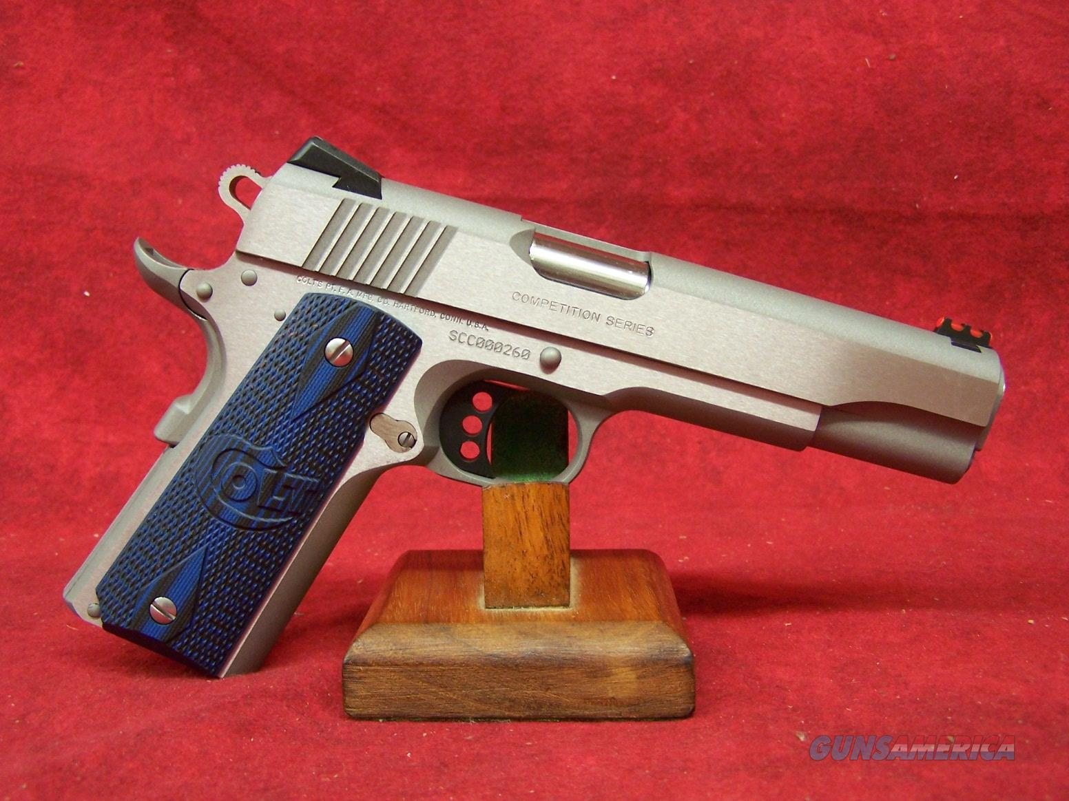 "Colt Government Model Competition Series 45 Auto 5"" National Match Barrel (01080CCS)  Guns > Pistols > Colt Automatic Pistols (1911 & Var)"