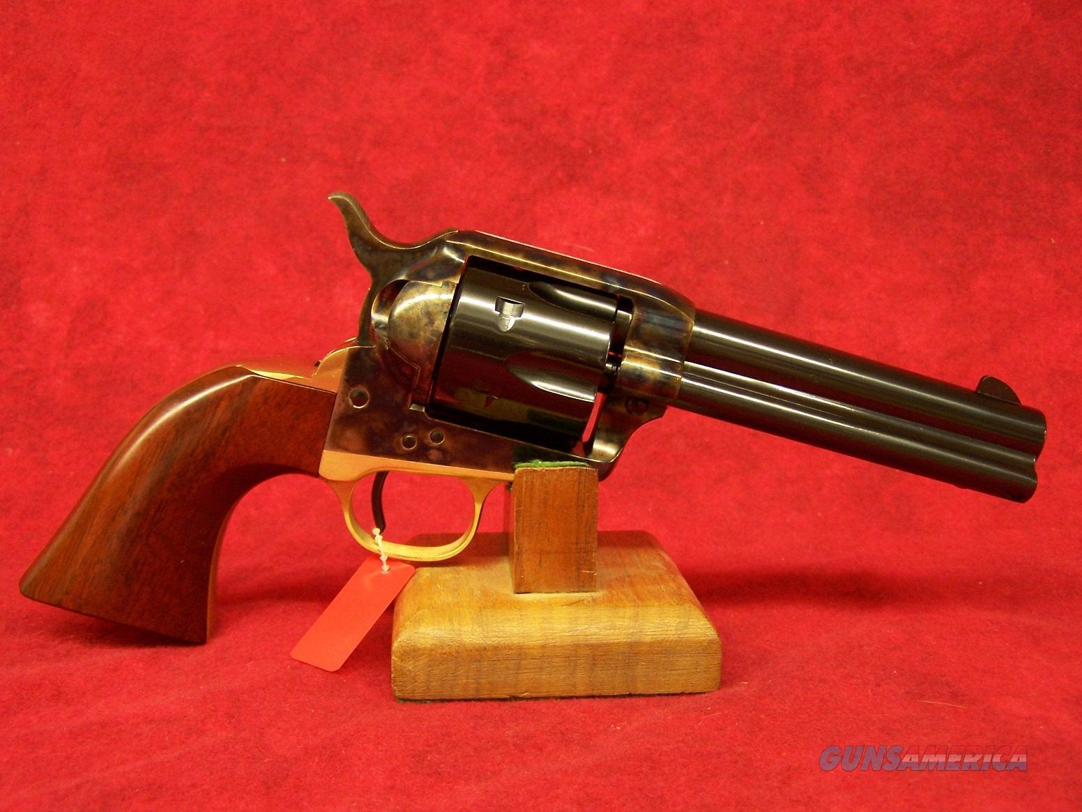 "Uberti 1873 Cattleman NM Brass .22LR 4 3/4"" (356080)  Guns > Pistols > Uberti Pistols > Ctg."