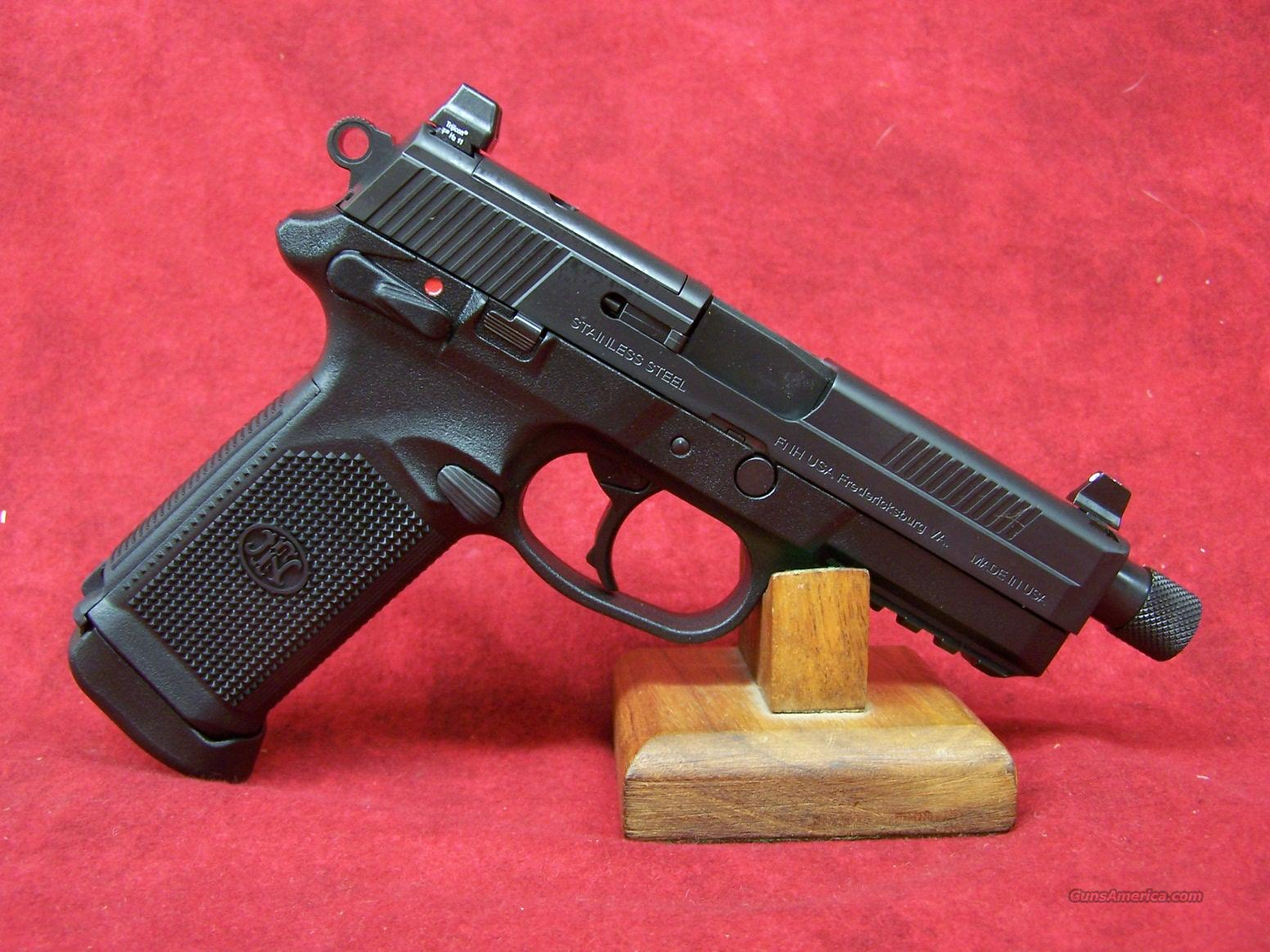 FNH FNP-45 Tactical Double Action/Single Action .45 ACP(66810)  Guns > Pistols > FNH - Fabrique Nationale (FN) Pistols > FNP